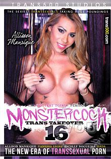 MonsterCock: Trans Takeover 16 Box Cover
