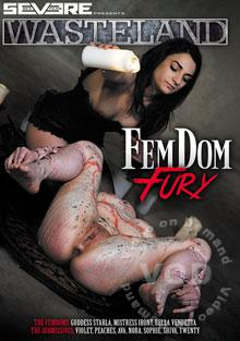 Femdom Fury Box Cover - Login to see Back