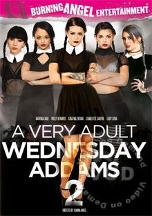 A Very Adult Wednesday Addams 2 Box Cover