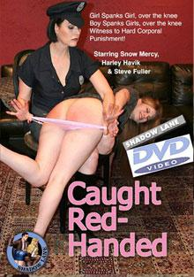 Caught Red Handed Box Cover