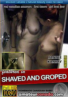 Shaved And Groped Box Cover