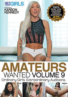 Amateurs Wanted 9 Box Cover - Login to see Back