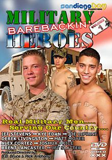 Military Barebackin' Heroes 1 Box Cover