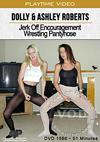 Video: Dolly & Ashley Roberts Jerk Off Encouragement Wrestling Pantyhose