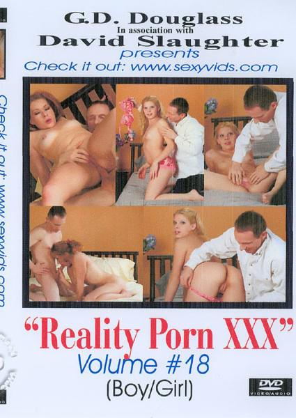 Reality Porn XXX Volume #18 Box Cover