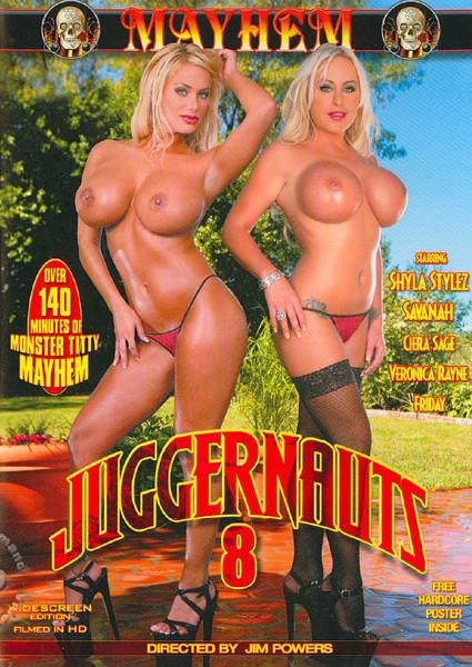 Juggernauts 8 Box Cover