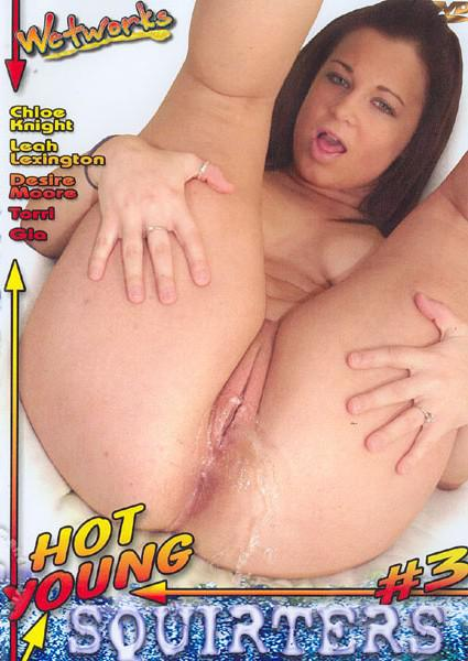 Hot Young Squirters #3 Box Cover