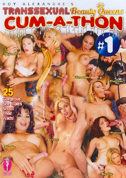 Transsexual Beauty Queens Cum-A-Thon #1 Box Cover