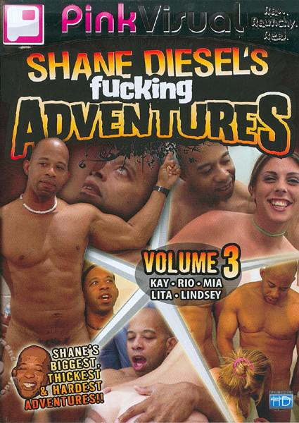Shane Diesel's Fucking Adventures Volume 3 Box Cover