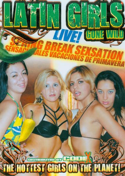 Latin Girls Gone Wild - Spring Break Sexsation Box Cover