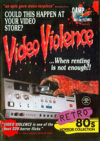 Video Violence Box Cover