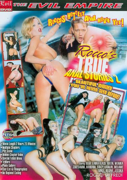 Rocco's True Anal Stories 2 Box Cover