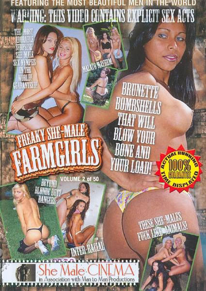 Freaky She-Male Farmgirls Box Cover