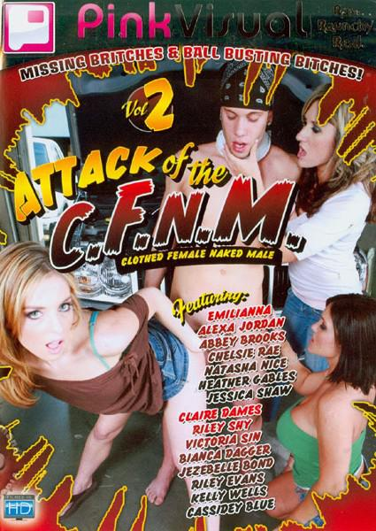 Attack Of The C.F.N.M. (Clothed Female Naked Male) Vol. 2 Box Cover