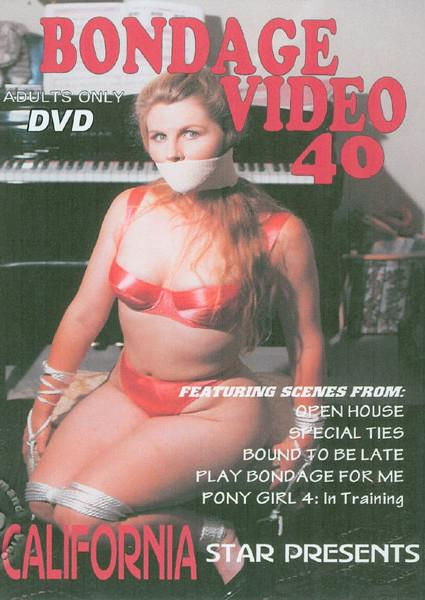 Bondage Video 40 Box Cover