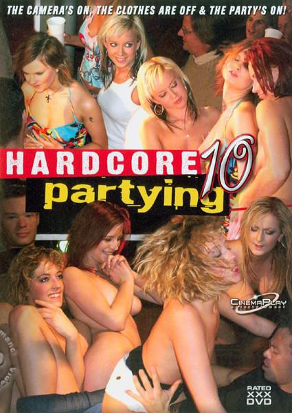 Hardcore Partying 10 Box Cover