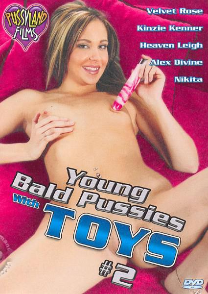 Young Bald Pussies With Toys #2 Box Cover