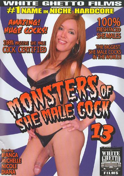 Monsters Of She Male Cock 13 Box Cover