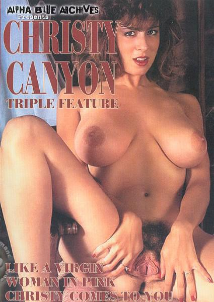 Christy Canyon Triple Feature - Woman In Pink Box Cover