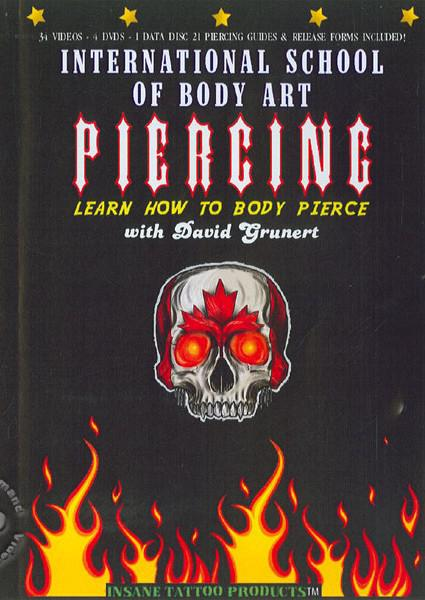 Learn How To Body Pierce - Disc 1 Box Cover