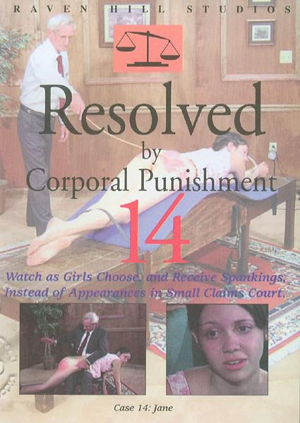 Resolved By Corporal Punishment 14 - Authentic Spankings Box Cover