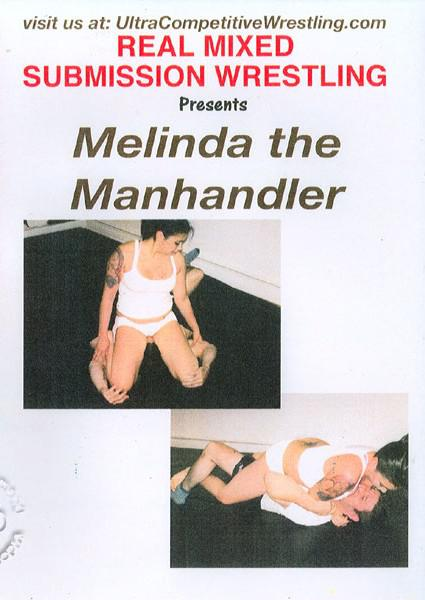 REALCMX-513: Melinda The Manhandler Box Cover