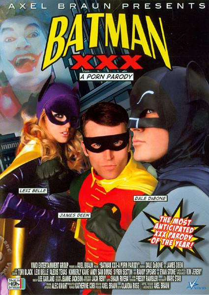 Batman XXX - A Porn Parody Box Cover