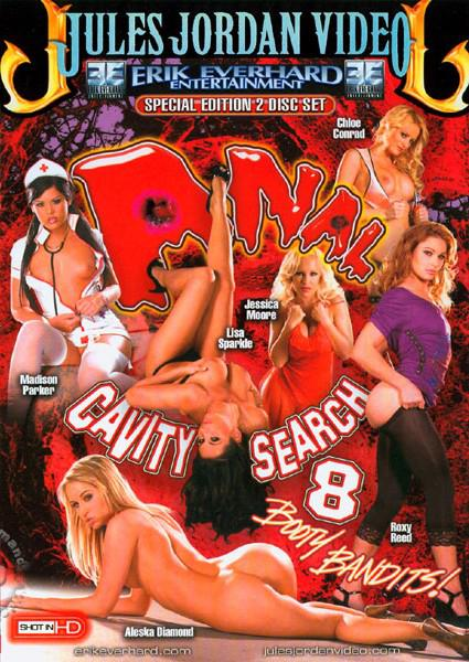 Anal Cavity Search 8 (Disc 1) Box Cover