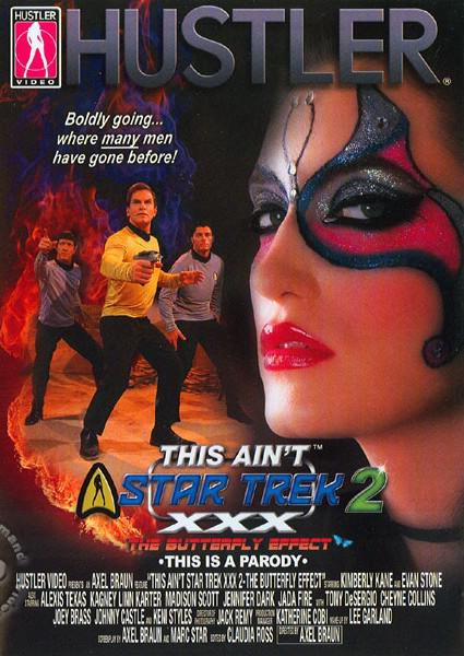 This Aint Star Trek XXX Volume 2 - The Butterfly Effect Box Cover