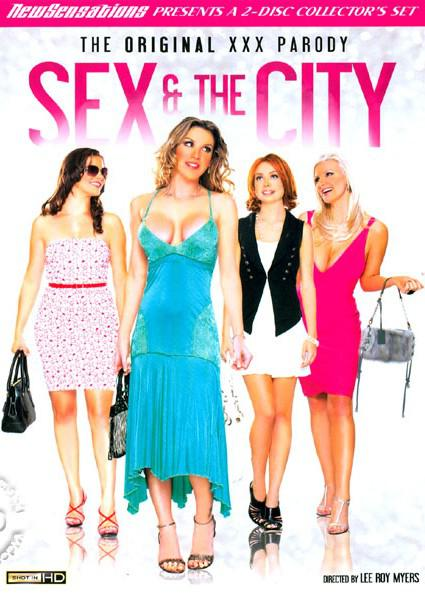 Sex & The City - The Original XXX Parody (Disc 1) Box Cover