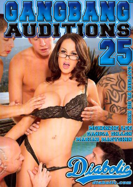 Gangbang Auditions #25 Box Cover