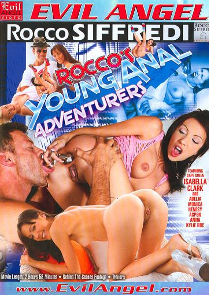 Rocco's Young Anal Adventurers Box Cover