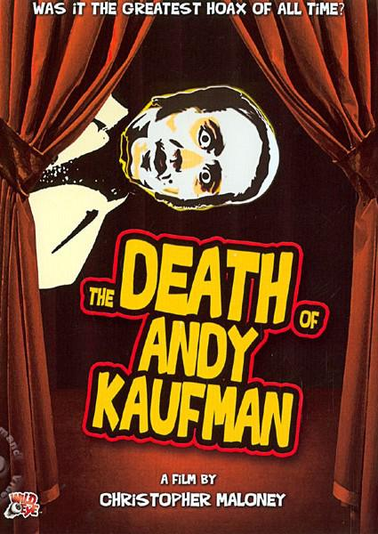 The Death of Andy Kaufman (760137520092) Box Cover