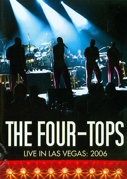 The Four-Tops: Live In Las Vegas (760137519294) Box Cover