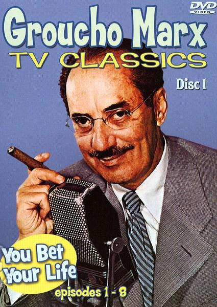 Groucho Marx TV Classics: Episodes 1-8 (874757031590) Box Cover