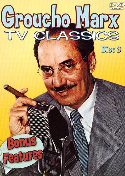 Groucho Marx TV Classics: Bonus Features (874757031590) Box Cover