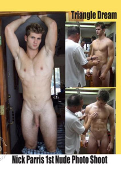 Nick Parris - 1st Nude Photo Shoot Box Cover