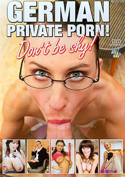 German Private Porn! Don't Be Shy! Box Cover