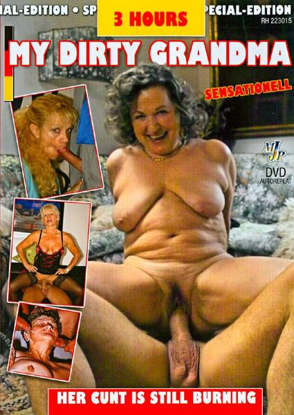 My Dirty Grandma - Her Cunt Is Still Burning Box Cover