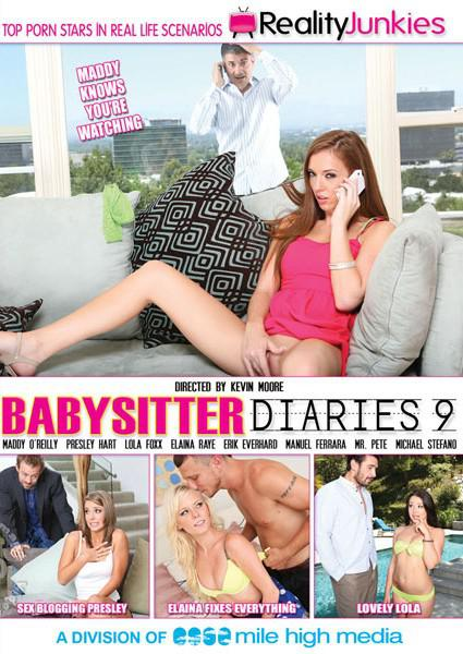 Babysitter Diaries 9 Box Cover