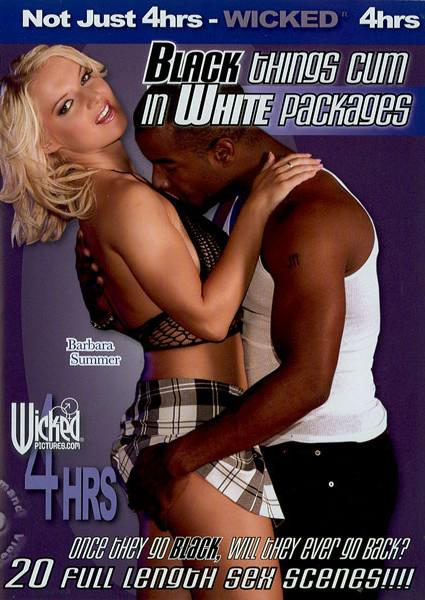 Black Things Cum In White Packages Box Cover