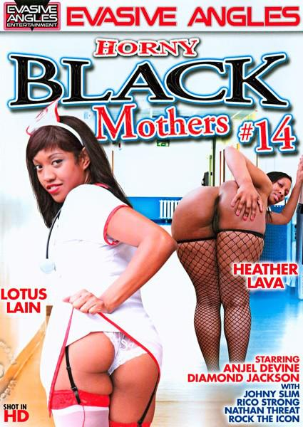 Horny Black Mothers #14 Box Cover