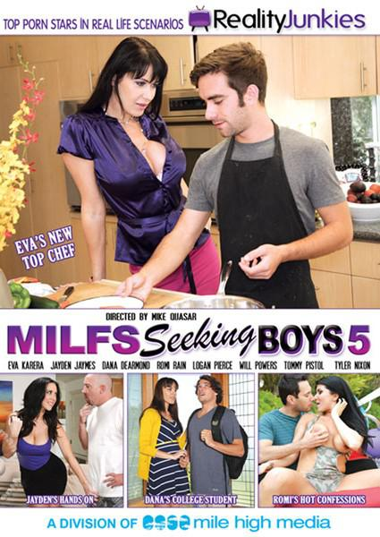MILFs Seeking Boys 5 Box Cover