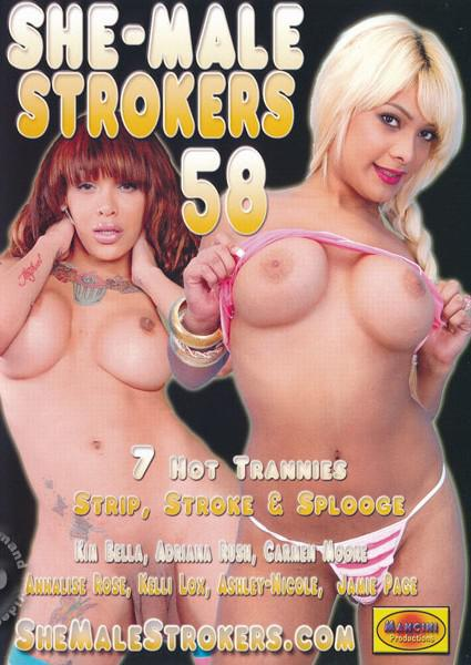 She-Male Strokers 58 Box Cover