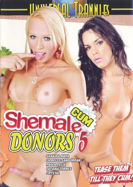 Shemale Cum Donors 5 Box Cover