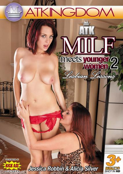ATK MILF Meets Younger Women - Lesbian Lessons 2 Box Cover
