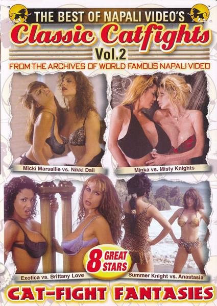 The Best Of Napali Video's Classic Catfights Vol. 2 - Cat-Fight Fantasies Box Cover