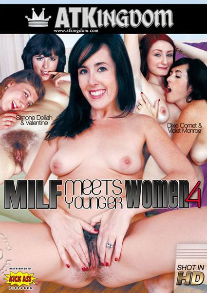 ATK MILF Meets Younger Women 4 Box Cover
