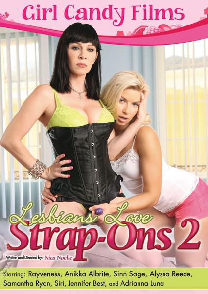 Lesbians Love Strap-Ons 2 Box Cover
