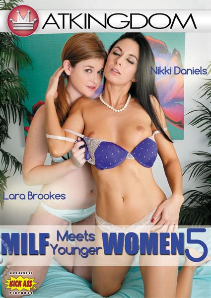 ATK MILF Meets Younger Women 5 Box Cover